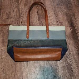 8af11b2308 Women Fossil Leather Multi Colored Handbag on Poshmark